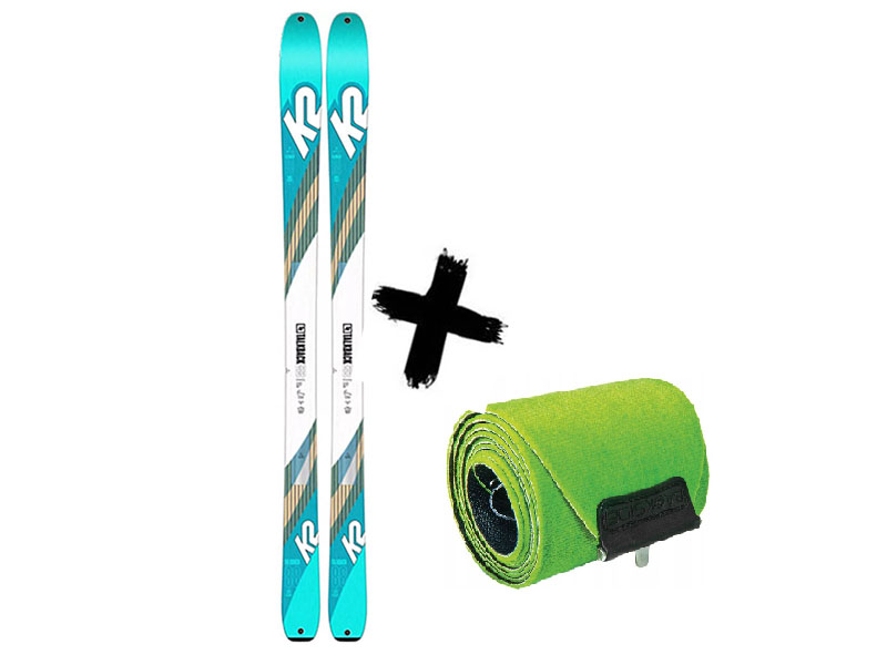 + skiturowe Foki 2021 Narty 88 / K2 2020 TALKBACK WAYBACK 88 K2 Talkback