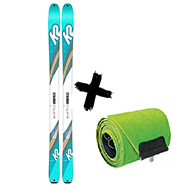 Narty K2 Talkback 88 2020 + Foki skiturowe K2 WAYBACK / TALKBACK 88 2021