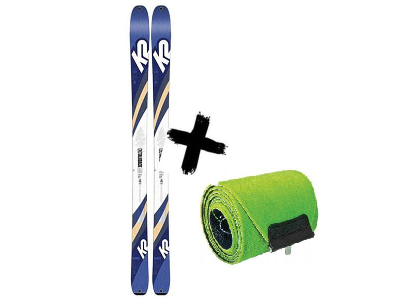 84 Narty WAYBACK K2 K2 2021 Talkback 84 + / Foki skiturowe TALKBACK 2020