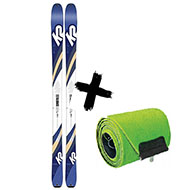 Narty K2 Talkback 84 2020 + Foki skiturowe K2 WAYBACK / TALKBACK 84 2021