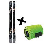 Narty K2 Wayback 96 2020 + Foki skiturowe K2 WAYBACK / TALKBACK 96 2021