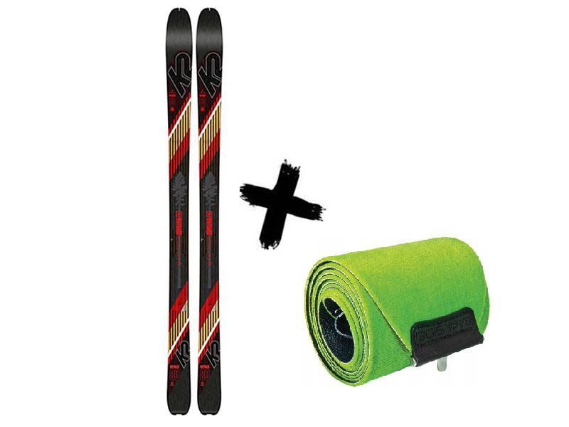 K2 80 WAYBACK skiturowe + Wayback 2020 K2 Narty 80 2021 Foki
