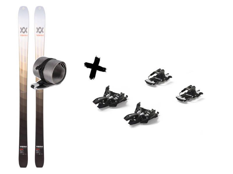 Wiązania Travel + 90 9 Foki 80 Narty Volkl 80 2021 Alpinist Long + Skin Rise Rise Marker