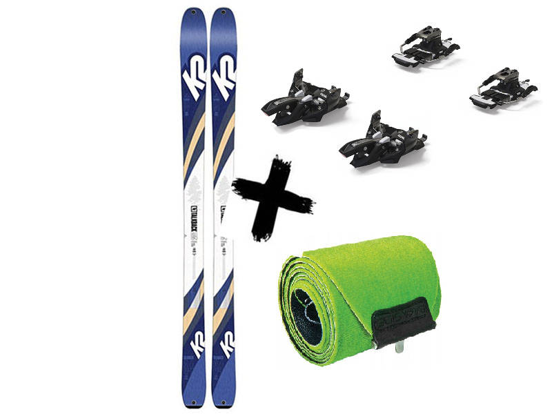 K2 Travel K2 2020 Talkback + 2021 Alpinist 84 / 84 2021 skiturowe Marker WAYBACK Long Foki + Wiązania 9 Narty TALKBACK