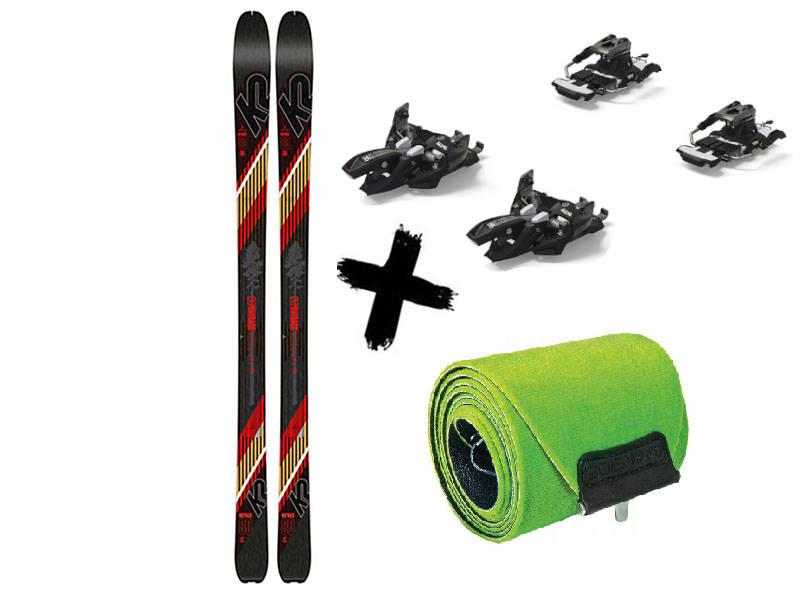 skiturowe + 9 Travel Narty Wiązania + 2021 K2 80 2020 80 WAYBACK Long Marker 2021 Alpinist K2 Foki Wayback