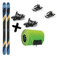 Narty K2 Wayback 84 2020 + Foki skiturowe K2 WAYBACK / TALKBACK 84 2021 + Wiązania Marker Alpinist 9 Long Travel 2021