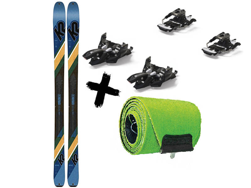 2021 Foki Wayback 9 Marker skiturowe WAYBACK 2021 Wiązania + Narty Long Alpinist K2 2020 K2 84 84 / TALKBACK Travel +